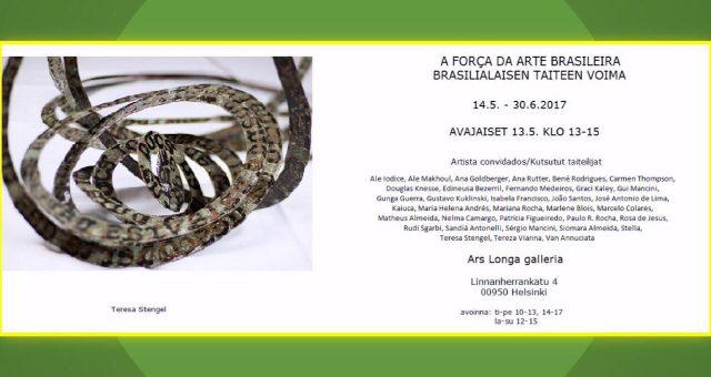Brasilialaisen taiteen voima – Bene mukana isossa näyttelyssä!